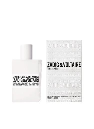 Zadig&Voltaire This İs Her! Edp 50 Ml Kadın Parfüm Renksiz